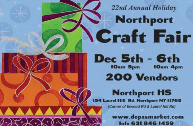 Craft Fair At Smithtown High School East