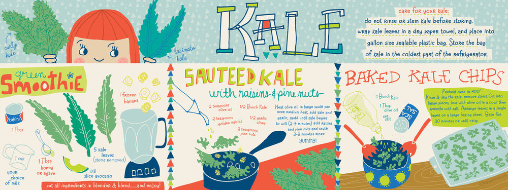 Krazy for Kale! by  Tracy Mattocks