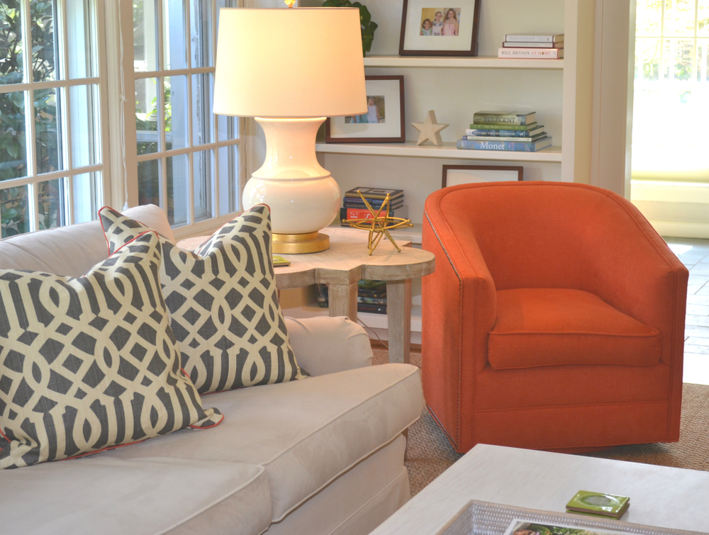 Before and after cambridge sunroom lw for Lucy williams interiors