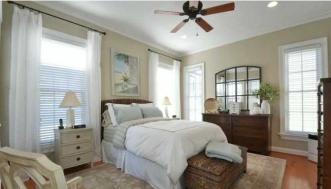 BEFORE AND AFTER: EAST BEACH MASTER BEDROOM — LW