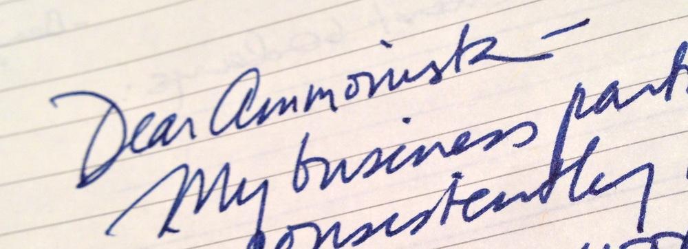 dear ammonista: q+a
