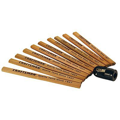 Cool doesn't have to cost a lot either - such as these oh-so-relevant Sears Craftsman Carpenter Pencils.