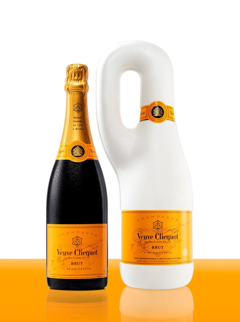 Veuve Clicquot  || First 100% biodegradable, isothermal packaging.