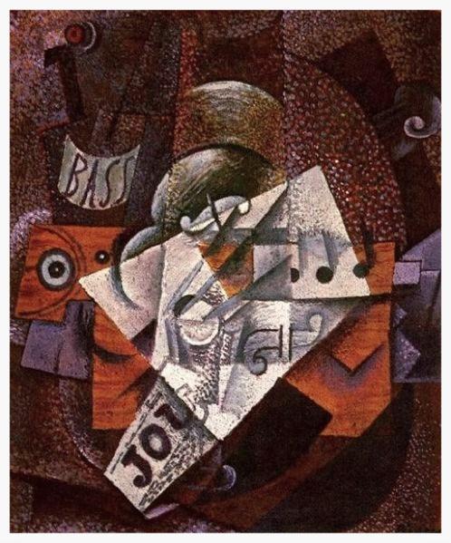 2 Pablo_Picasso,_1913,_Bouteille,_clarinette,_violon,_journal,_verre.jpg