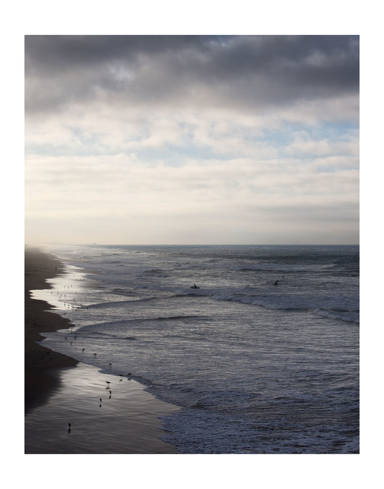 HB,CA Select images Early investigations into how time abstracts the landscape with an exploration of Where the land meets the sea in Huntington Beach, California.