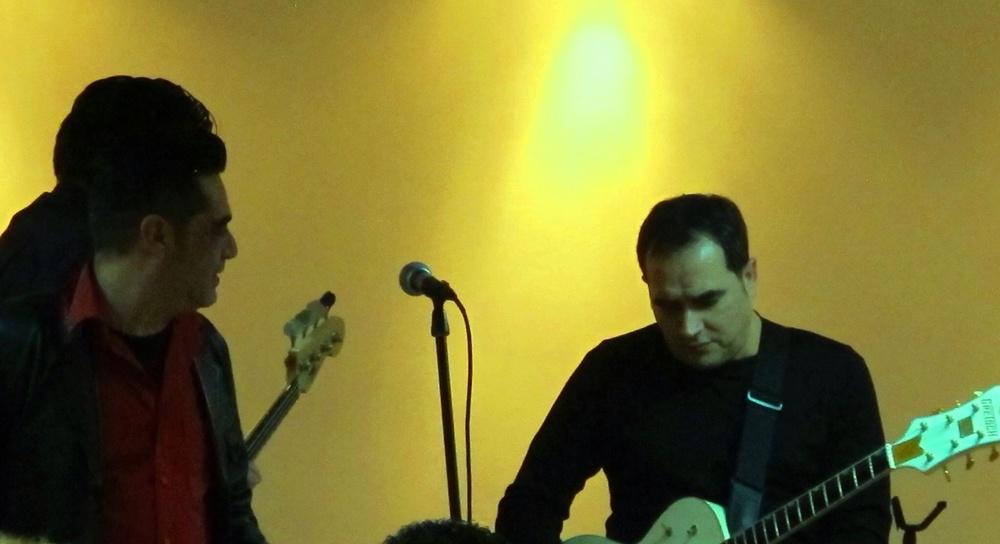 Concierto con The Cavern, en Febrero 2015, Cartagena, Murcia.