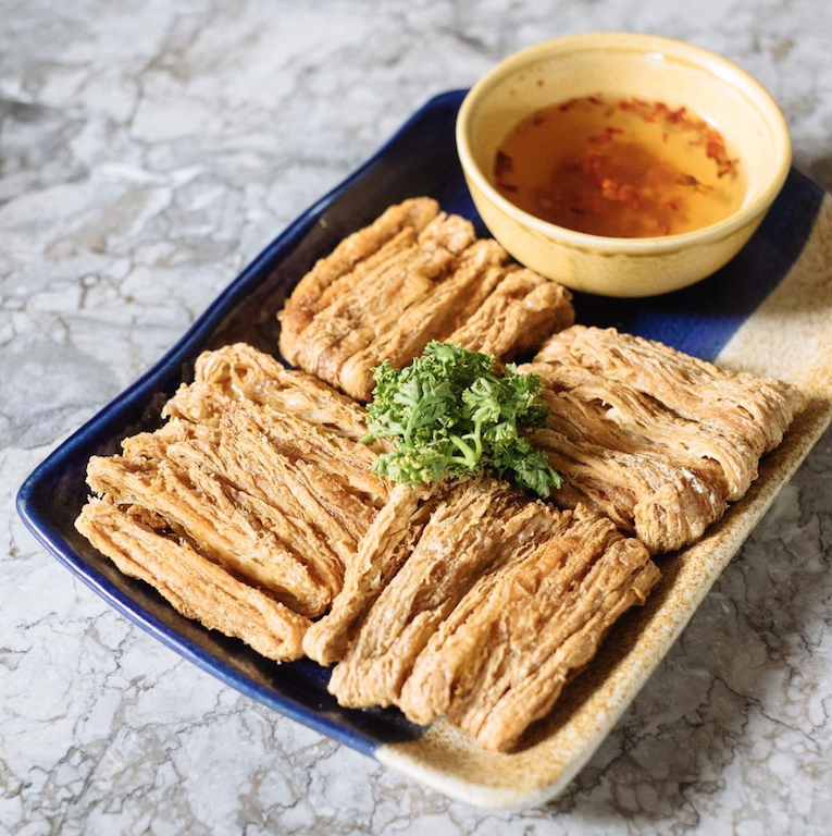 Beancurd chicharon