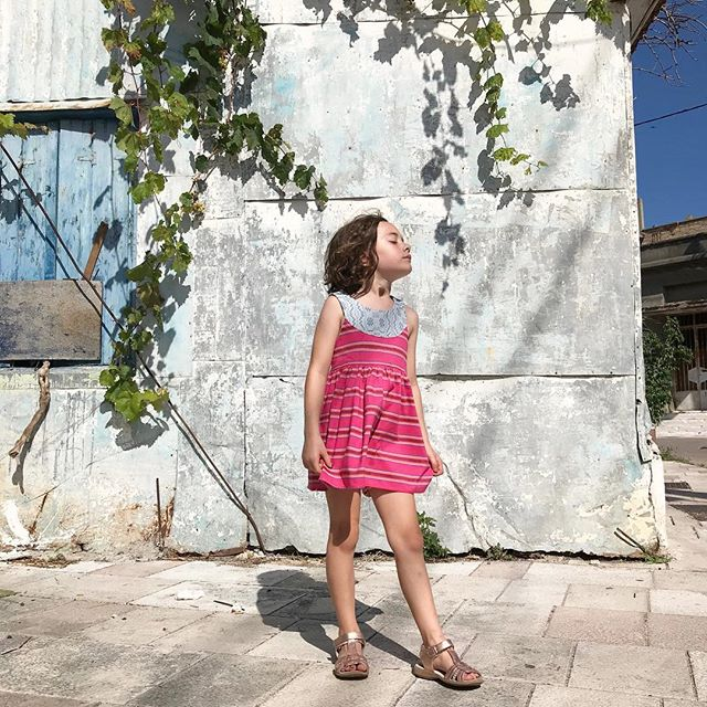 Feelin' the Aegean sunshine in our Maria dress ✨ 📷@lovelanedesigns