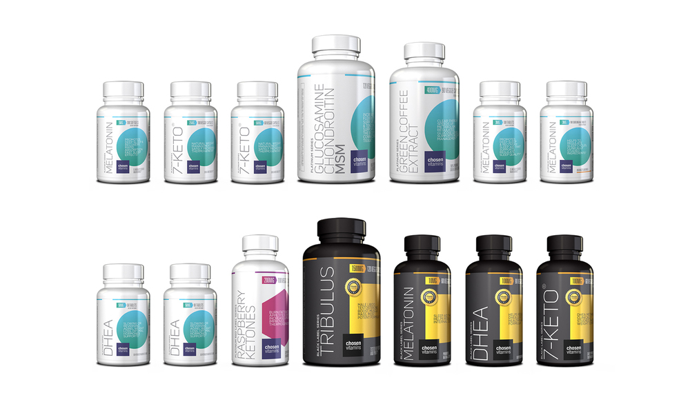 Chosen Vitamins Product Line