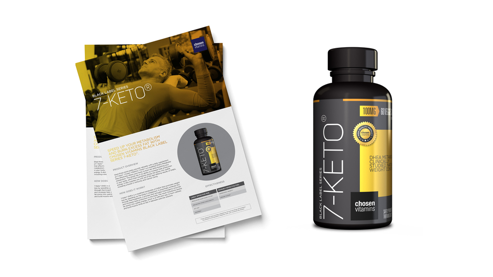 Chosen Vitamins 7-Keto Black Series