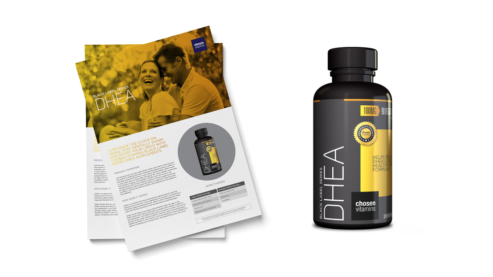 Chosen Vitamins DHEA Black Series