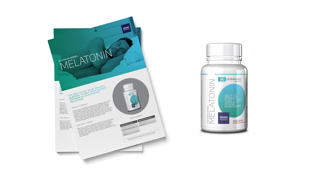 Chosen Vitamins Melatonin