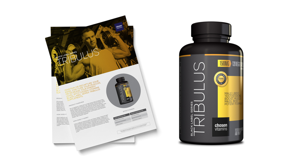 Chosen Vitamins Tribulus Black Series