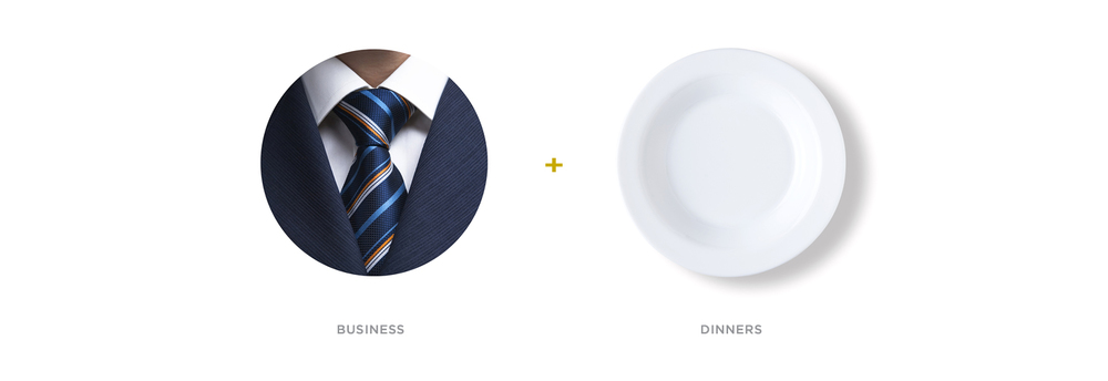 Business + Dinners