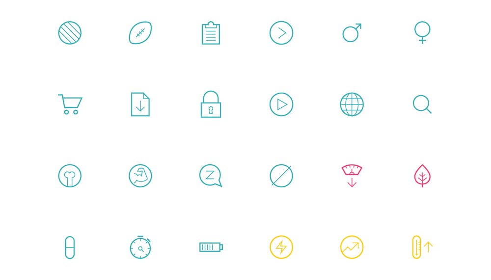 Chosen Vitamins Icons