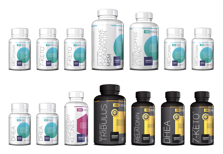 Chosen Vitamins Re-brand