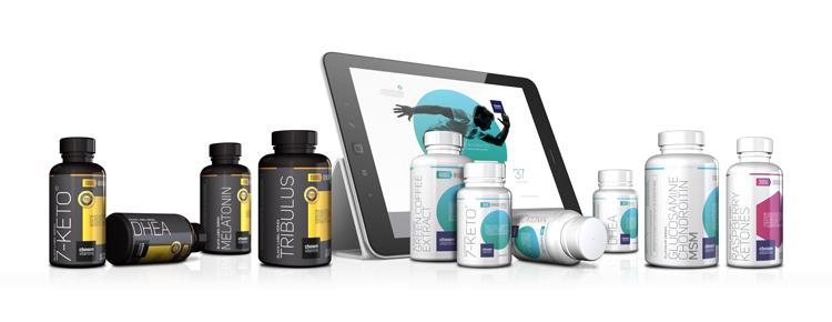 Chosen Vitamins Rebrand