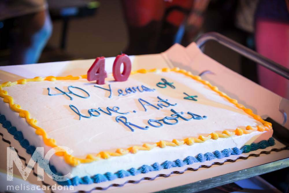 Birthday Cake for 300. Photo: Melisa Cardona