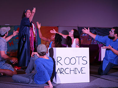 EARLY ROOTS: A PLAY FOR VOICES-CO-CREATOR