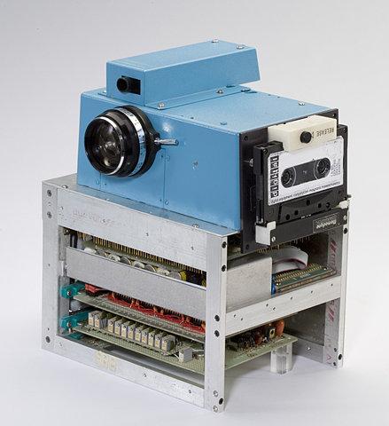 The first digital camera…tag me, bitch