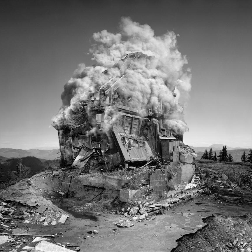 iheartmyart :      Jim Kazanjian , Untitled (Implosion), 2008
