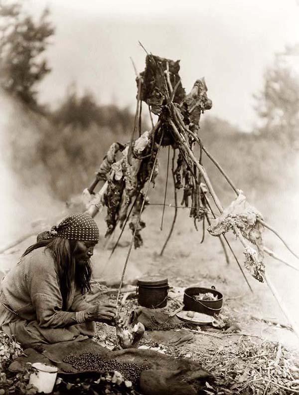 dirtworshipingypsy :       Sarsi Kitchen. It was taken in 1927 by Edward S. Curtis.