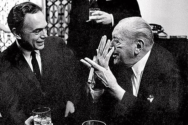 my grandpa with Mies Van Der Rohe