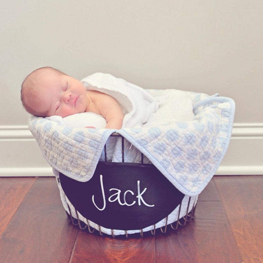 Jack's Basket mission is to celebrate every child born with Down syndrome and congratulate their family with gifts, support, and resources.