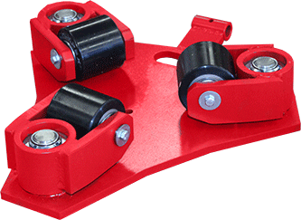 RT-2 machinery skates bottom view