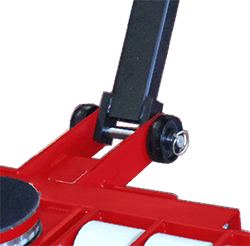 ST series moving skates reinforced handle bottom view