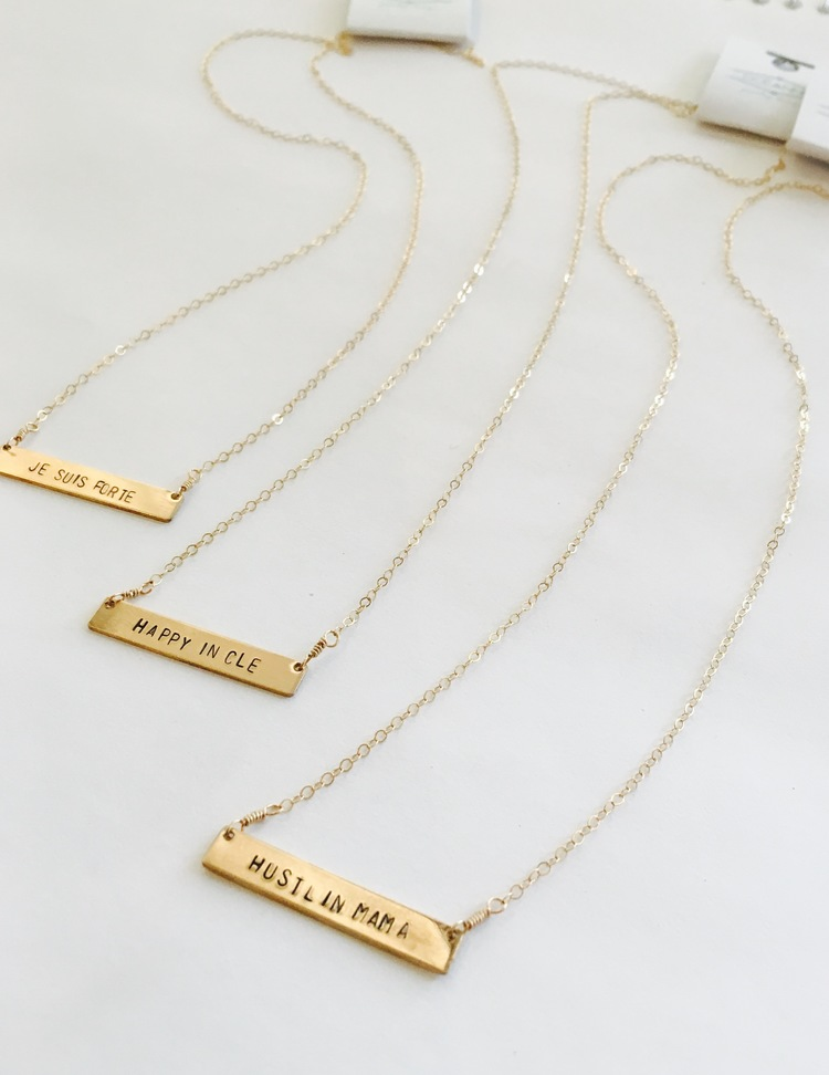 gifts custom personalized sided day initial dp dainty amazon bridesmaid bar mother name necklace s com handmade vertical