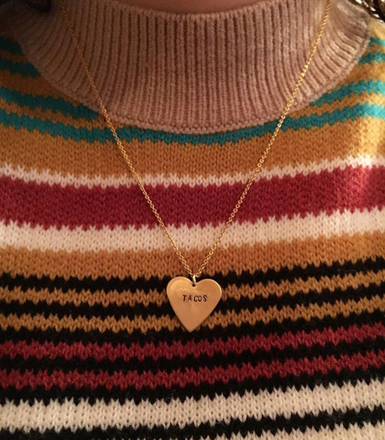 My Favorite Things Necklace // @km.stewart
