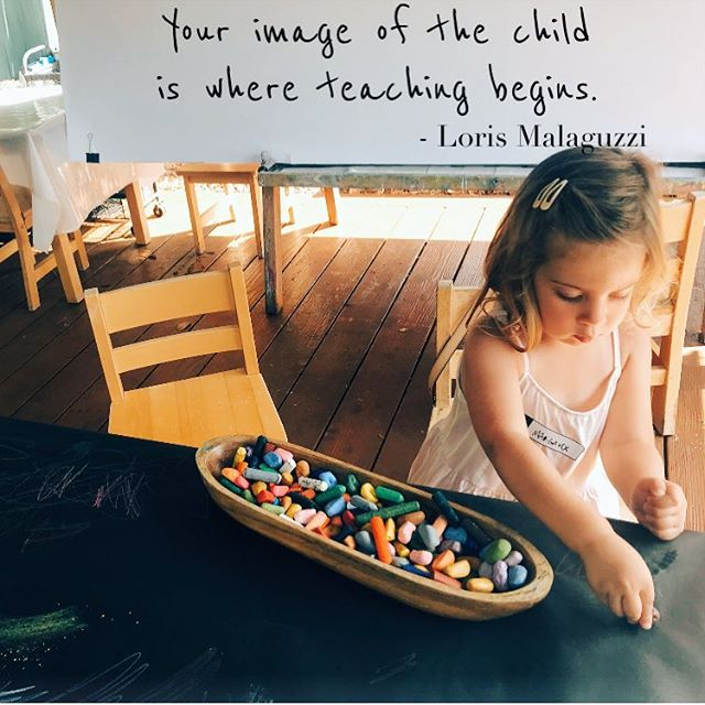 We started preschool this week, and I have to say, I am so enamored of the Reggio Emilia approach to Early childhood education (founded by Loris Malaguzzi 👆). It is so sensitive to the unique experience of the child, so focused co-creating the best path forward, so centered on the image of each child as a strong, intelligent, beautiful person. It truly is absolute magic to witness and experience. ❤️✨