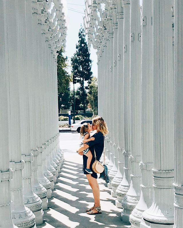 Now.. and then. @lacma has played a big role in our lives ❤️