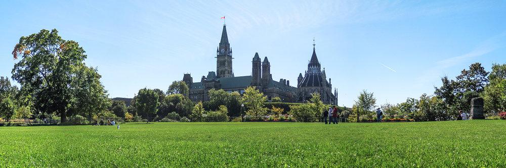 "PARLIAMENT OF CANADA, OTTAWA  | Image size: 36""x12""  |  300 dpi"