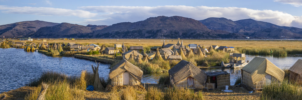 """A CITY MADE OUT OF TOTORA, UROS  