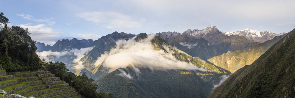 """SUNSET IN THE ANDES  