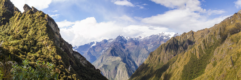 """MORNING ON THE INCA TRAIL  