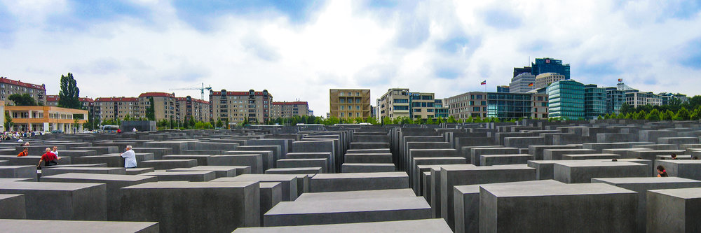 "HOLOCAUST MEMORIAL, BERLIN   |   Image size: 36""x12""   