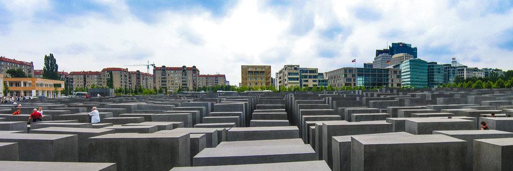 "HOLOCAUST MEMORIAL, BERLIN  | Image size: 36""x12""  |  300 dpi"