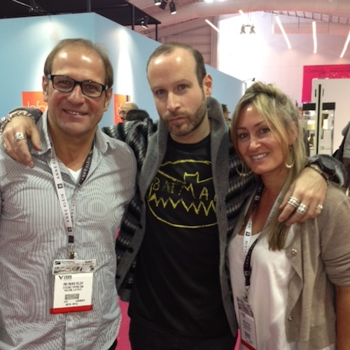 Mark and Sue Feldy with Eyewear Designer Thierry Lasry