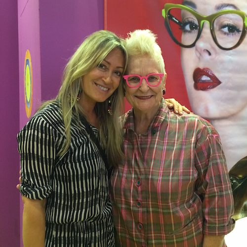 sue with gai gherardi of la eyeworks