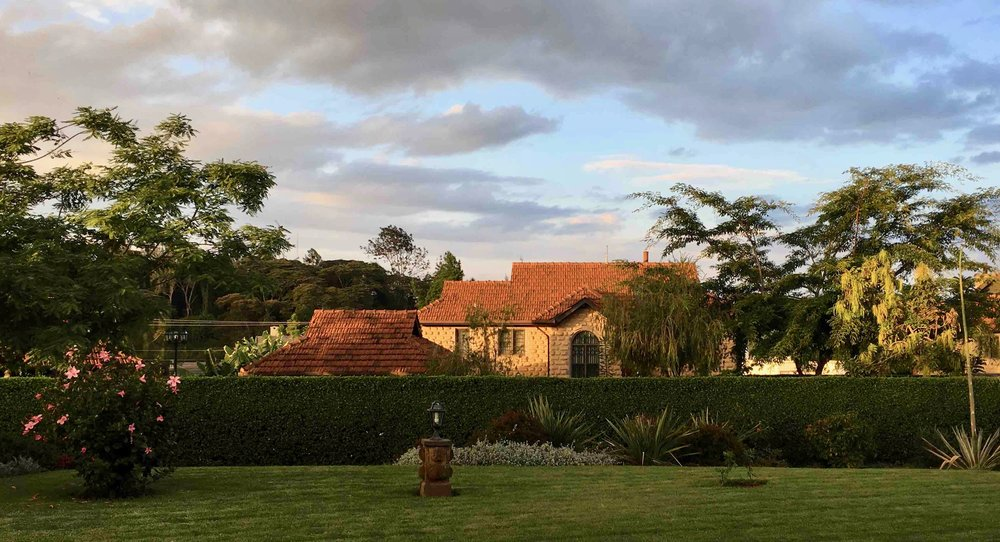 Robert & Jenny's compound in Nairobi