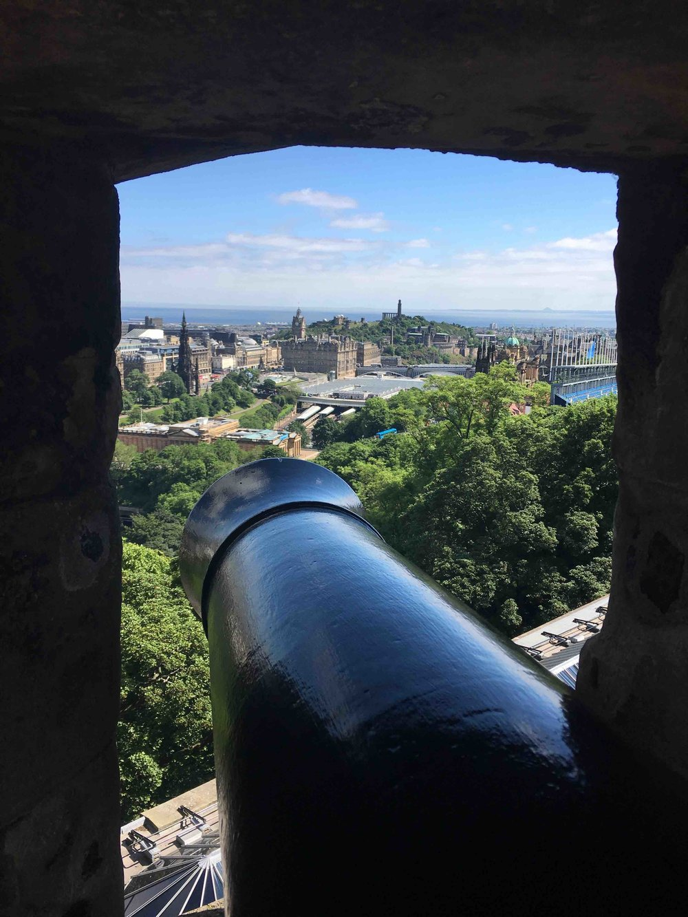 View from Edinburg Castle