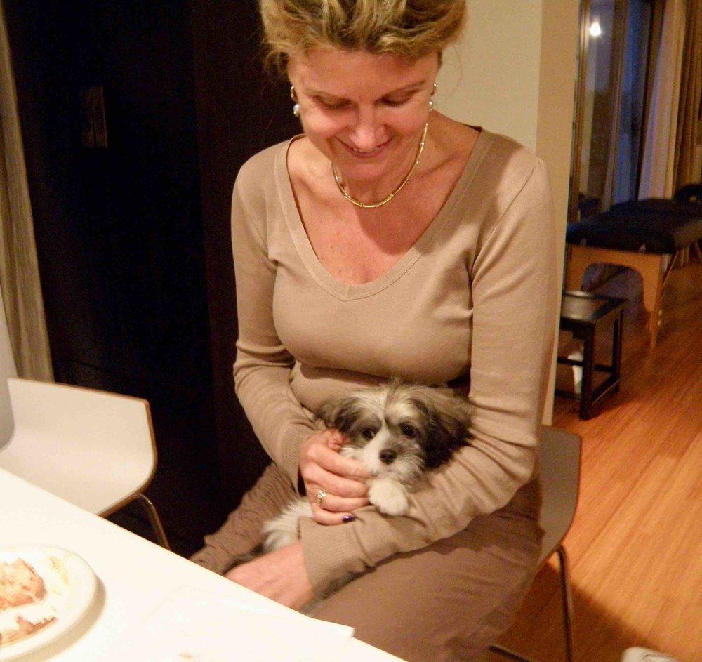 Lorna with Stir Fry