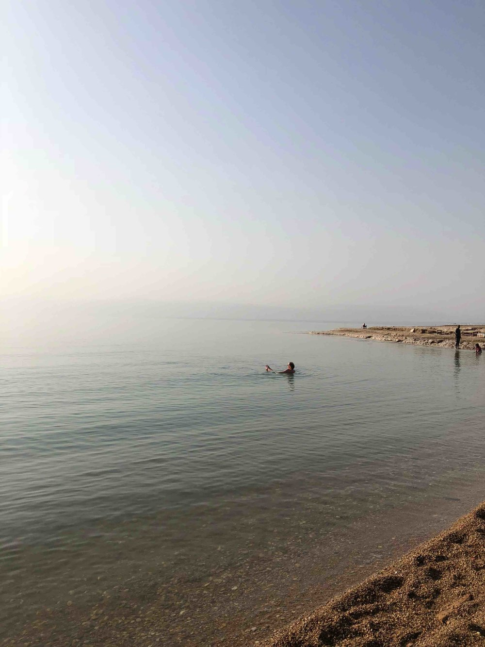 Dead sea 400m below sea level