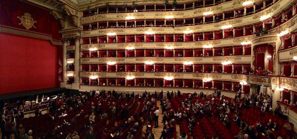 La Scala, Milan 1778