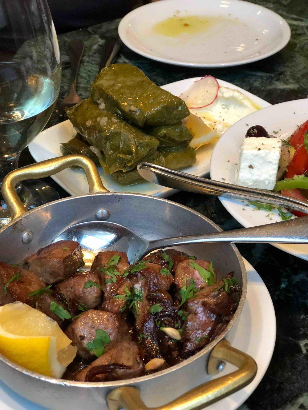 Cherchez La Femme liver & onions