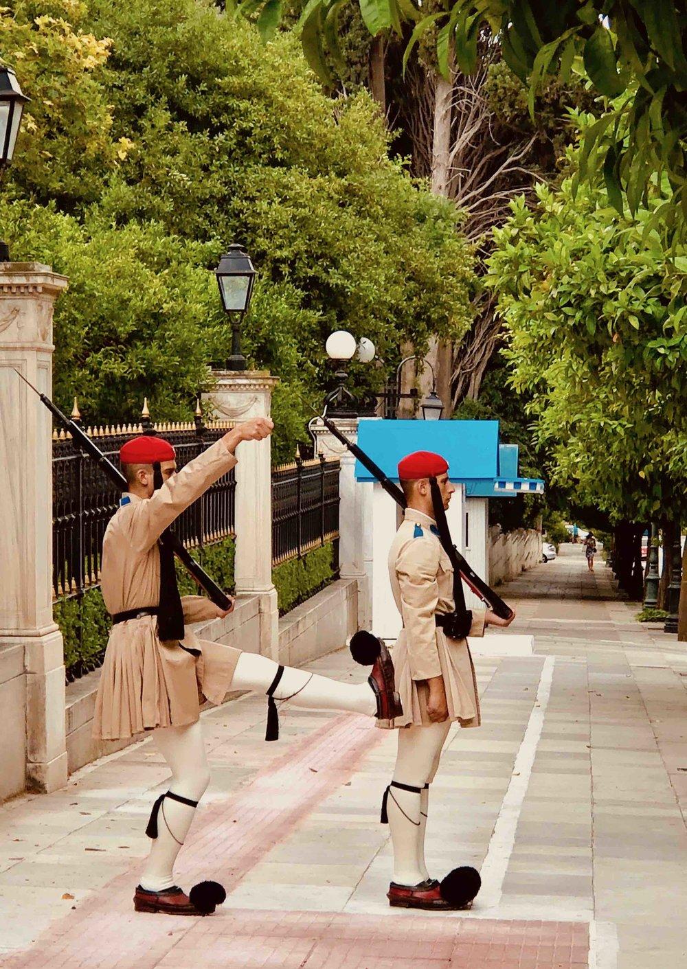 Evzones - Presidential Guards