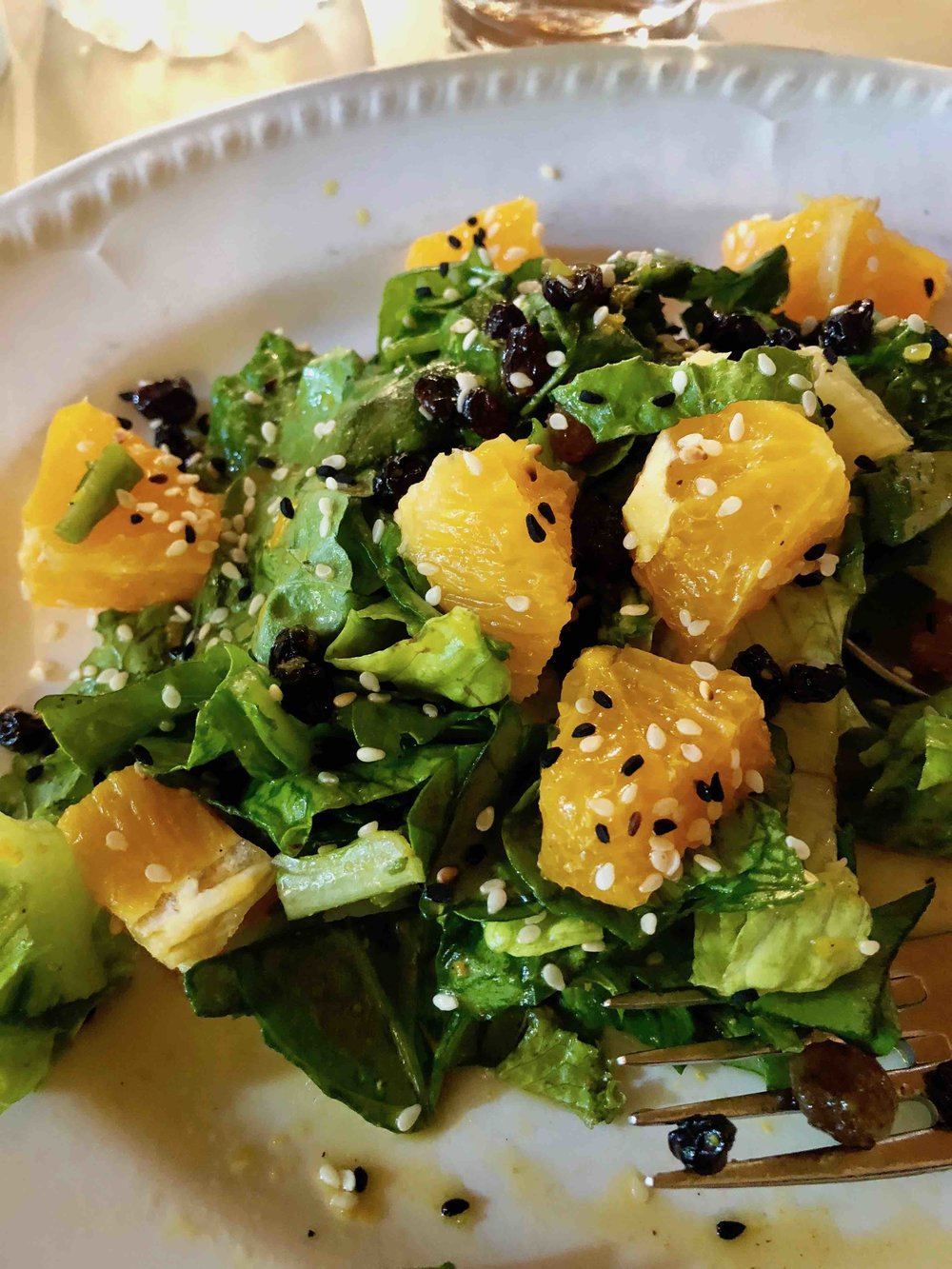 Oikeio - orange salad